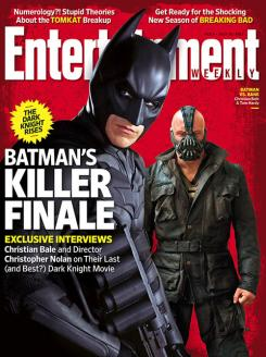 Portada de la revista F*** dedicada a The Dark Knight Rises (2012)