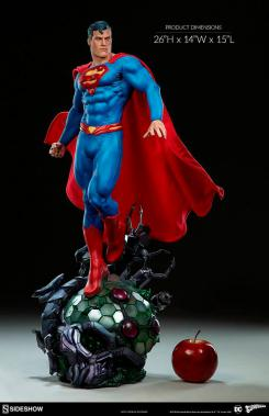 estatua de superman de sideshow