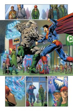Interior de Legion of Super-Heroes: Millennium