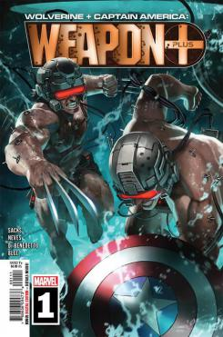 Portada de Wolverine & Captain America: Weapon X Plus