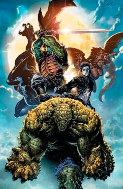 Imagen portada de Gotham City Monsters, por Philip Tan