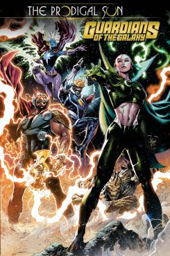 Guardians of the Galaxy: The Prodigal Sun #1, tercer one-shot de la historia Prodigal Sun