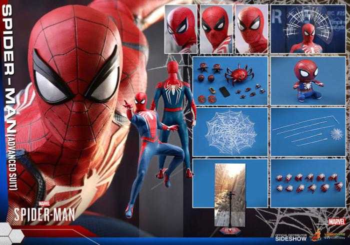 spiderman del videojuego de ps2 de hot toys