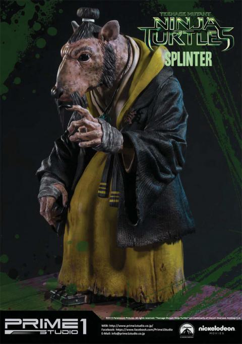 estatua del mestro splinter de prime 1