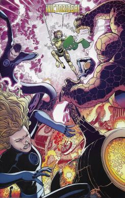 Los Cuatro Fantásticos, núm. 7. Página de muestra.