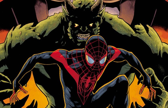 Duende Verde/Green Goblin y Ultimate Spider-Man