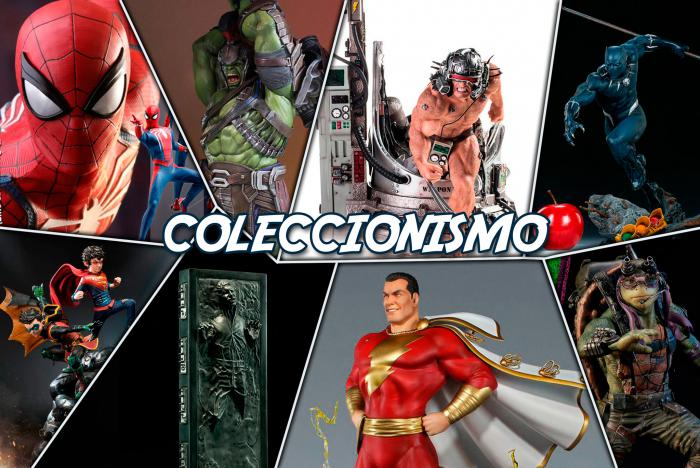 Spider-Man PS4 y Hellboy de Hot Toys, Weapon X de Iron Studios y más