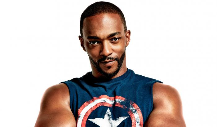Anthony Mackie en la portada de la revista Men Health de julio/agosto 2019