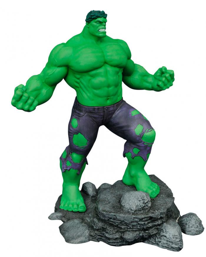 estatua de hulk de diamond select