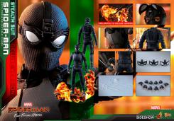 figura spiderman con traje de sigilo version deluxe de hot toys