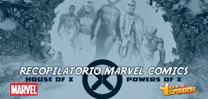 Recopilatorio Marvel Comics: Trailer presentación de House of X y Powers of X
