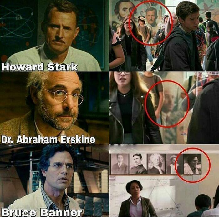 Referencias a otras películas en Spider-Man: Homecoming (2017)