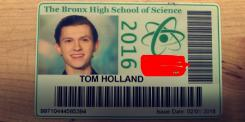 Carnet de Tom Holland en The Bronx High School of Science
