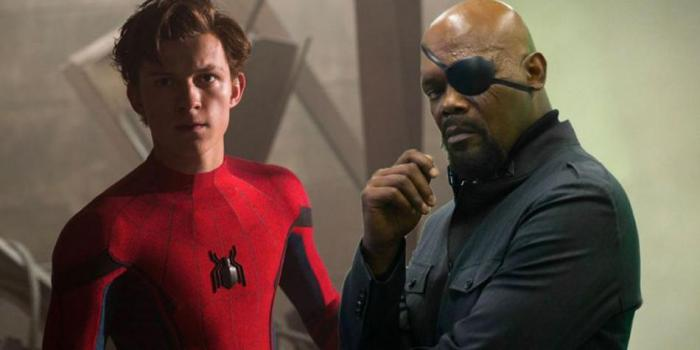 Spider-Man y Nick Fury