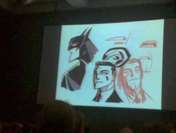 Concept a baja calidad de Beware The Batman