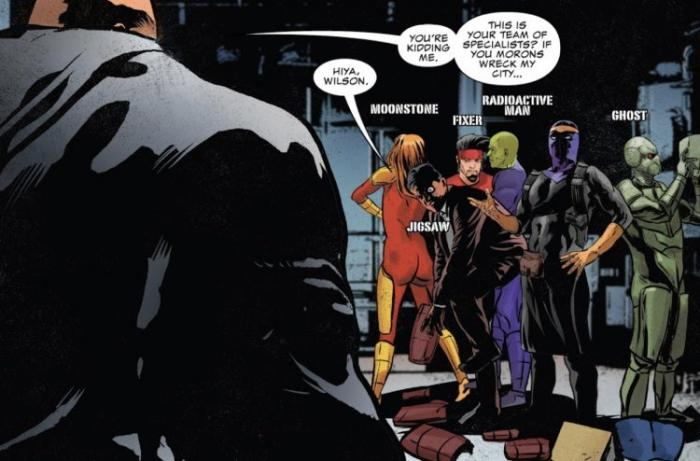 Nuevo equipo Thunderbolts en The Punisher: War on the Streets Part Two