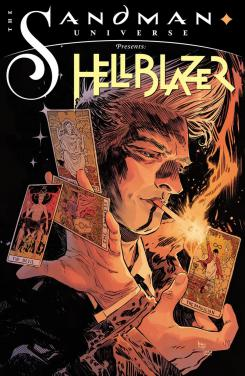 Portada del one-shot The Sandman Universe Presents Hellblazer #1