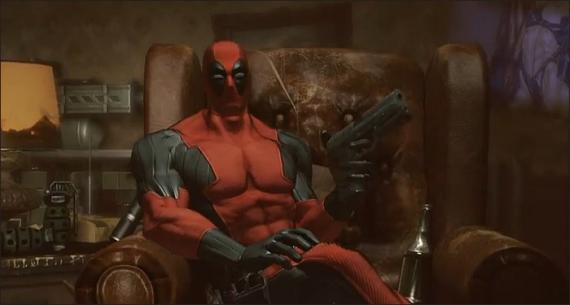 Captura del primer trailer del videojuego Deadpool (2013)