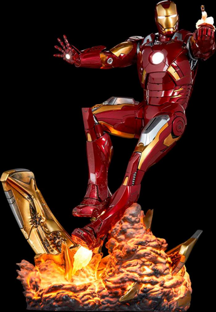 estatua de iron man de sideshow
