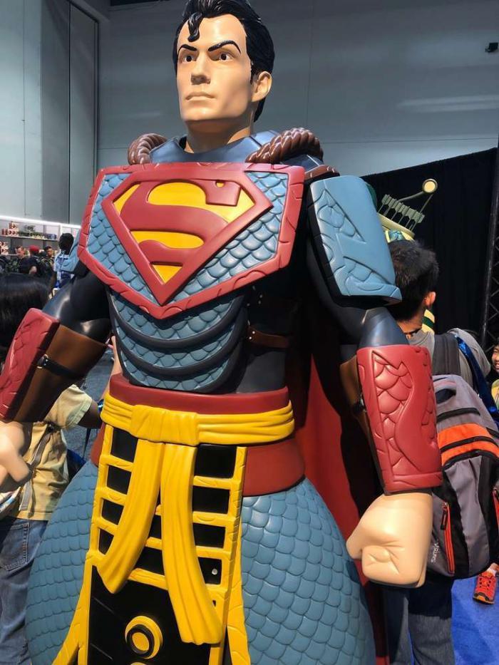 Exposición en la San Diego Comic Con 2019: Figura de Superman