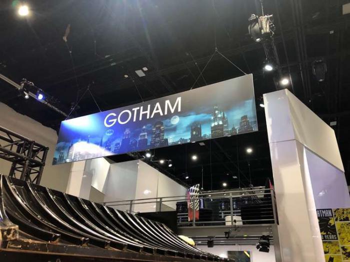 Exposición en la San Diego Comic Con 2019: banner de Gotham