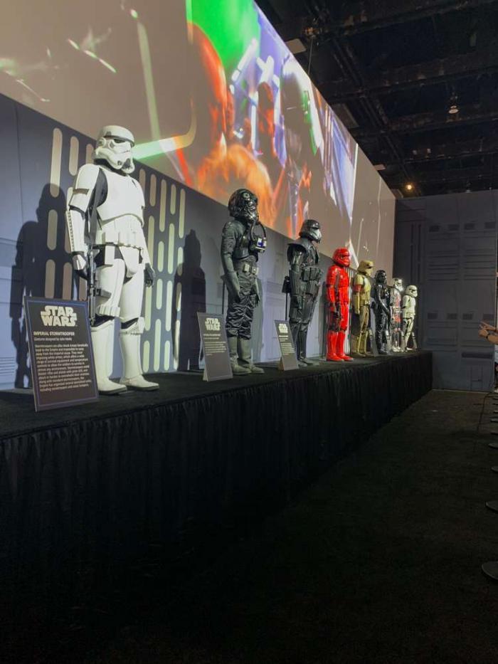 Exposición en la San Diego Comic Con 2019: Exposición Star Wars
