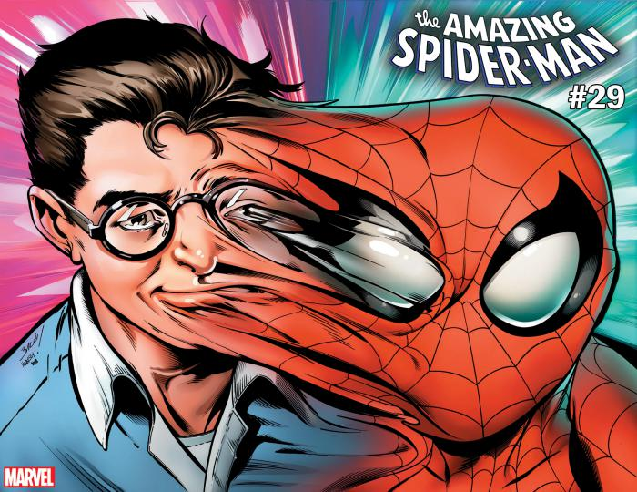 Portada alternativa relativa a Immortal de The Amazing Spider-Man #29