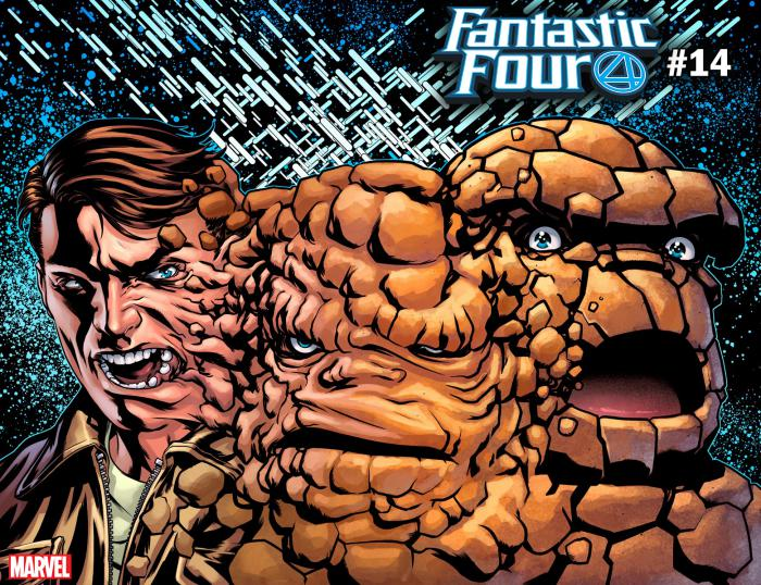 Portada alternativa relativa a Immortal de Fantastic Four #14