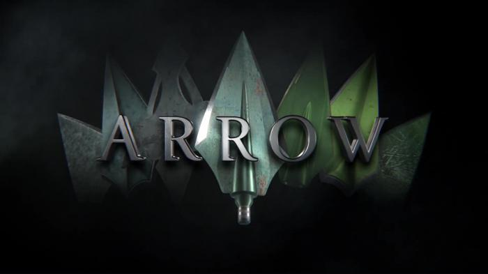 Captura de la octava temporada de Arrow