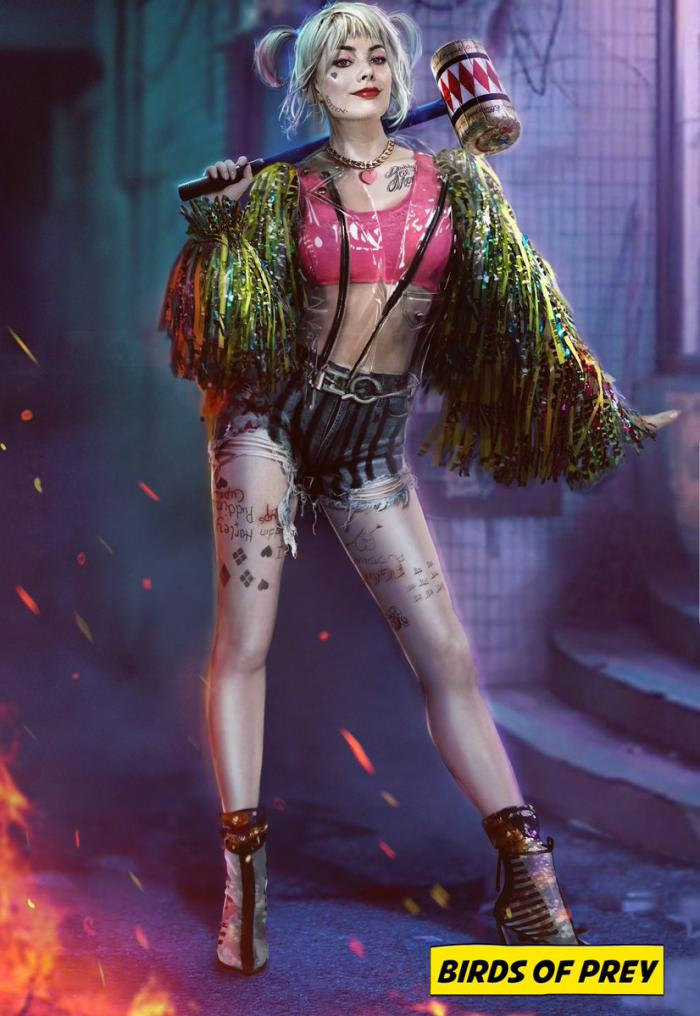 Arte conceptual de Harley Quinn en Birds of Prey (and the Fantabulous Emancipation of One Harley Quinn) (2020)