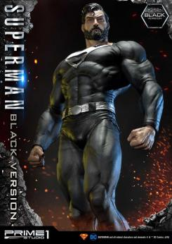 Figura Superman Black Version de Prime 1 Studio