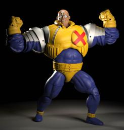 Figura de Strong Guy de la serie Age of Apocalypse de Hasbro Marvel Legends