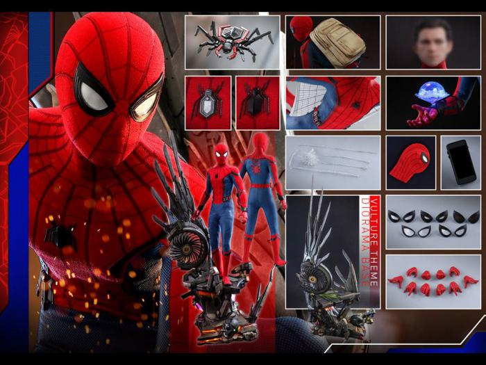 Figura de Spider-Man: Homecoming escala 1/4 de Hot Toys