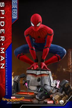 Figura de Spider-Man: Homecoming Deluxe Edition escala 1/4 de Hot Toys