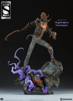 Figura de Scarecrow Edición Exclusiva de Sideshow Collectibles