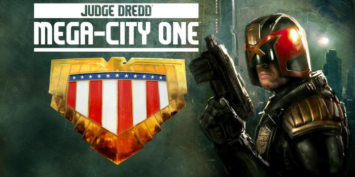 Montaje de Carl Urban y Judge Dredd: Mega-City