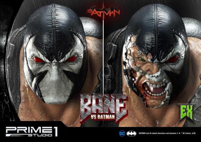 Figura Bane vs. Batman de Prime 1 Studios