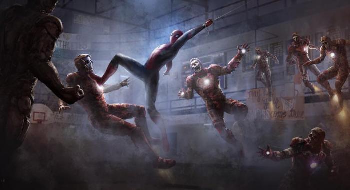 Arte conceptual de Spider-Man: Lejos de Casa (2019) por Henrik Tamm
