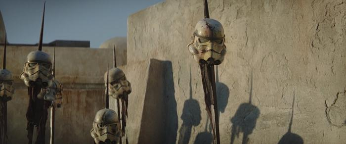 Captura del primer trailer de The Mandalorian