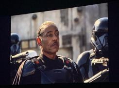Captura de imagen de The Mandalorian mostrada en la D23 2019