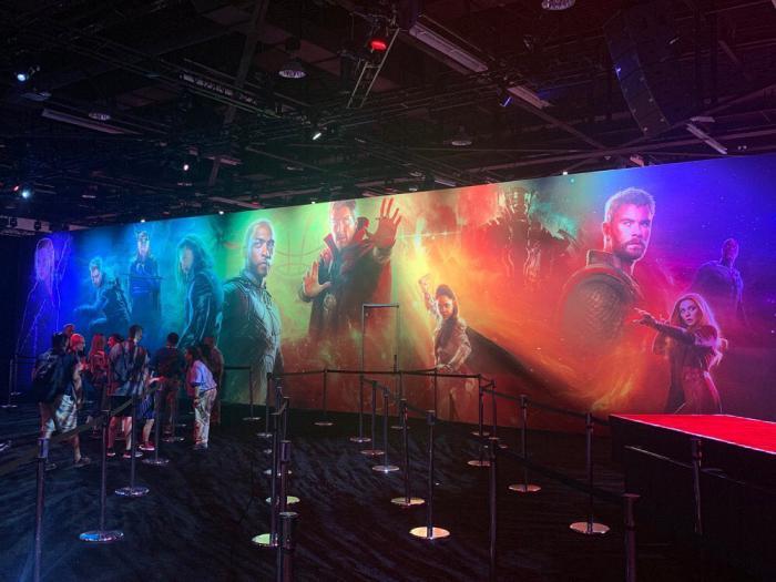 Banner promocional de la Fase Cuatro de Marvel Studios