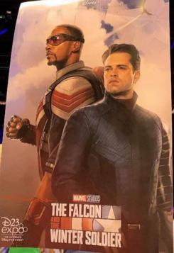 Póster a baja calidad de The Falcon and the Winter Soldier