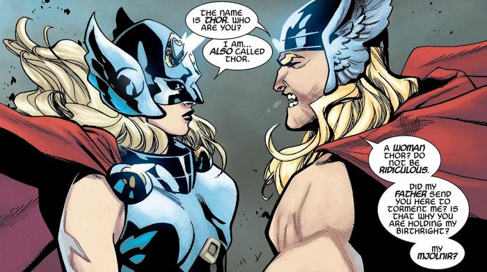 Imagen del cómic Generations: The Unworthy Thor & the Mighty Thor (2017) #1