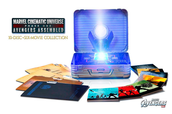 Imagen del pack Blu-Ray Marvel Cinematic Universe - Phase One: Avengers Assembled