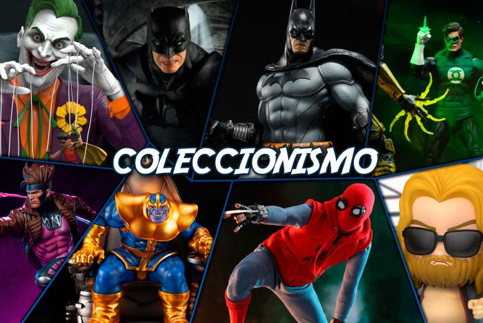 Coleccionismo: Spider-Man, Thanos, Gámbito, Batman: Arkham City...