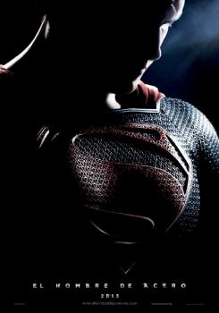 "Póster de ""Man of Steel"" en español"