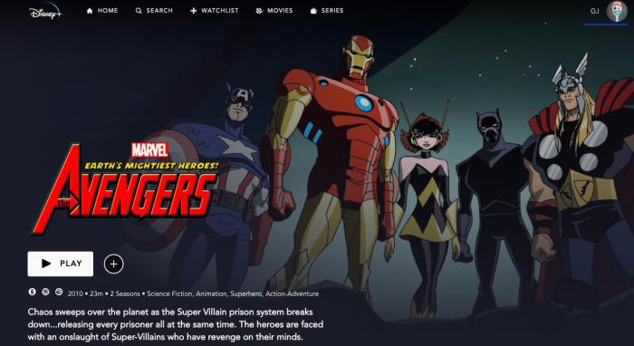 Las series de animación de Marvel en Disney Plus