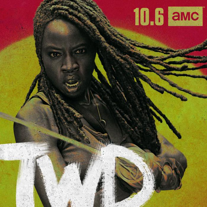 Imagen de la 10 temporada de The Walking Dead (2010 - ?), Michonne