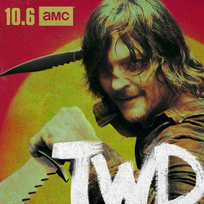 Imagen de la 10 temporada de The Walking Dead (2010 - ?), Daryl