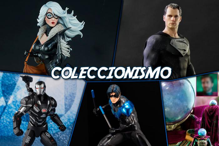 Lo que nos trae el mundo del coleccionismo: Black Suit Superman, Black Cat, War Machine y Nightwing